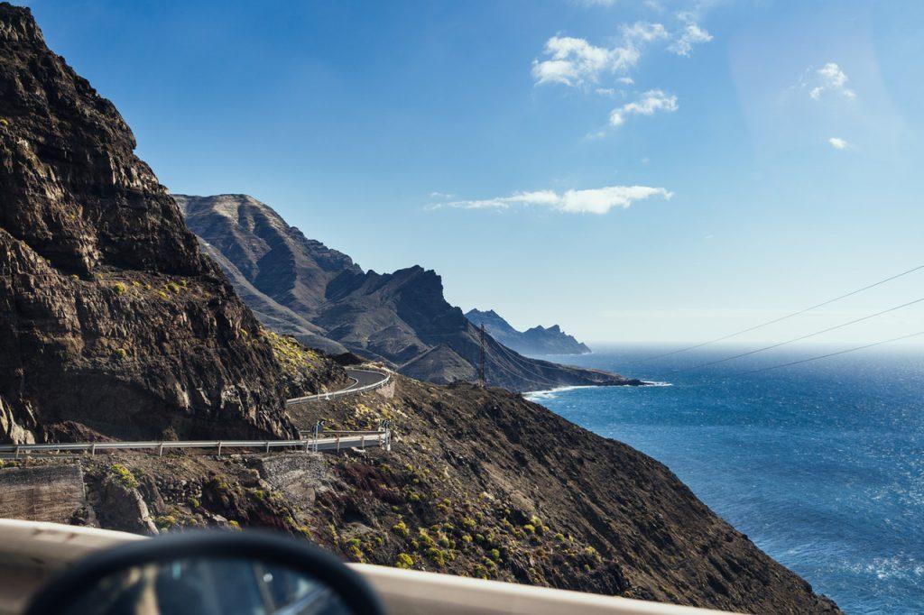 Canarische eilanden zonnig