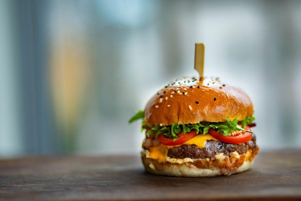 ongezonde hamburger
