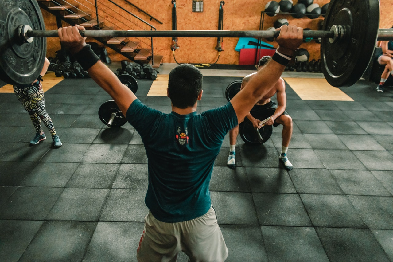CrossFit sport fitness training indoor