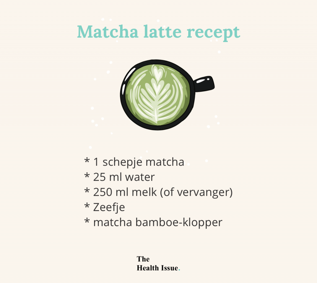 Matcha latte recept