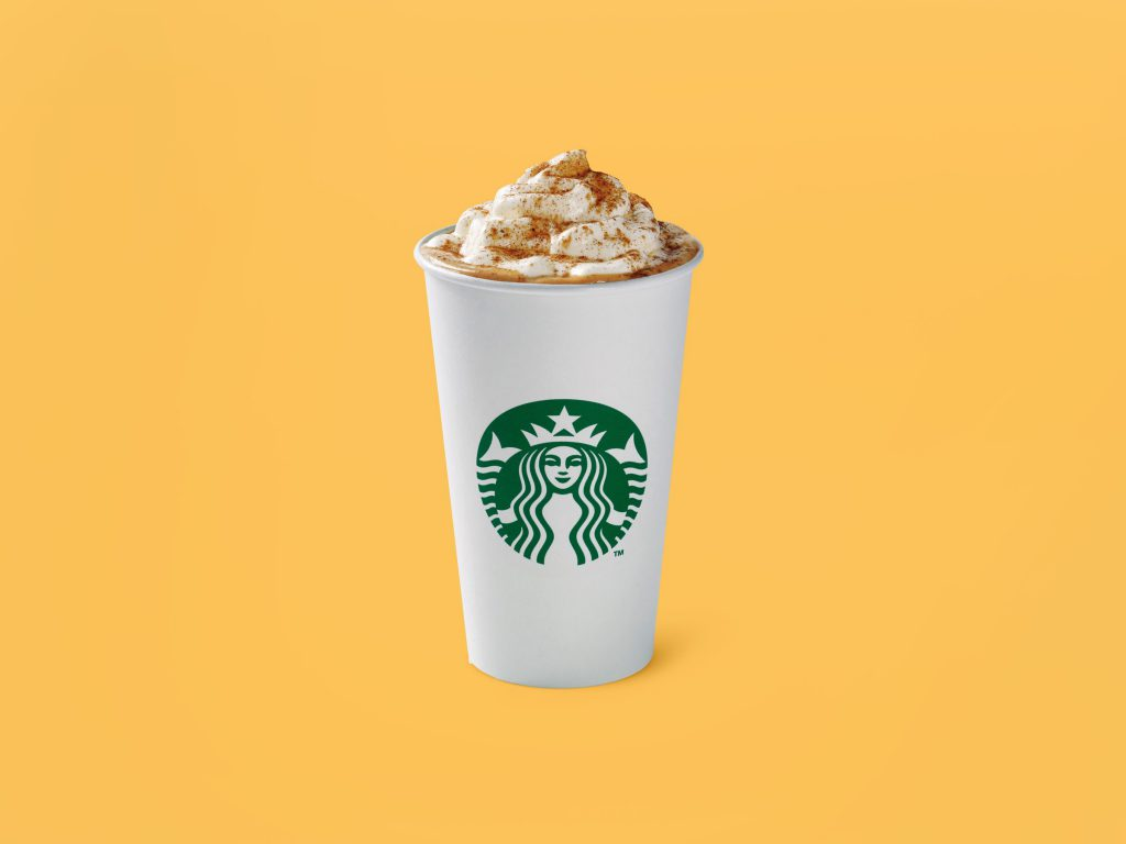 Pumpkin latte starbucks