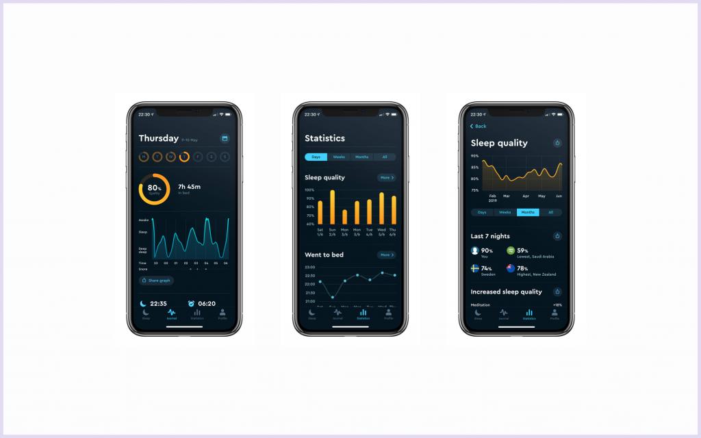 sleep cycle slaap app