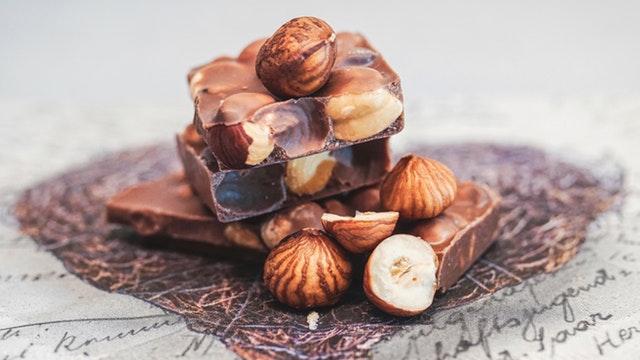 Chocola en hazelnoot oats