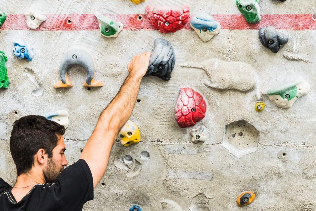 Boulder-niveaus hebben verschillende kleuren