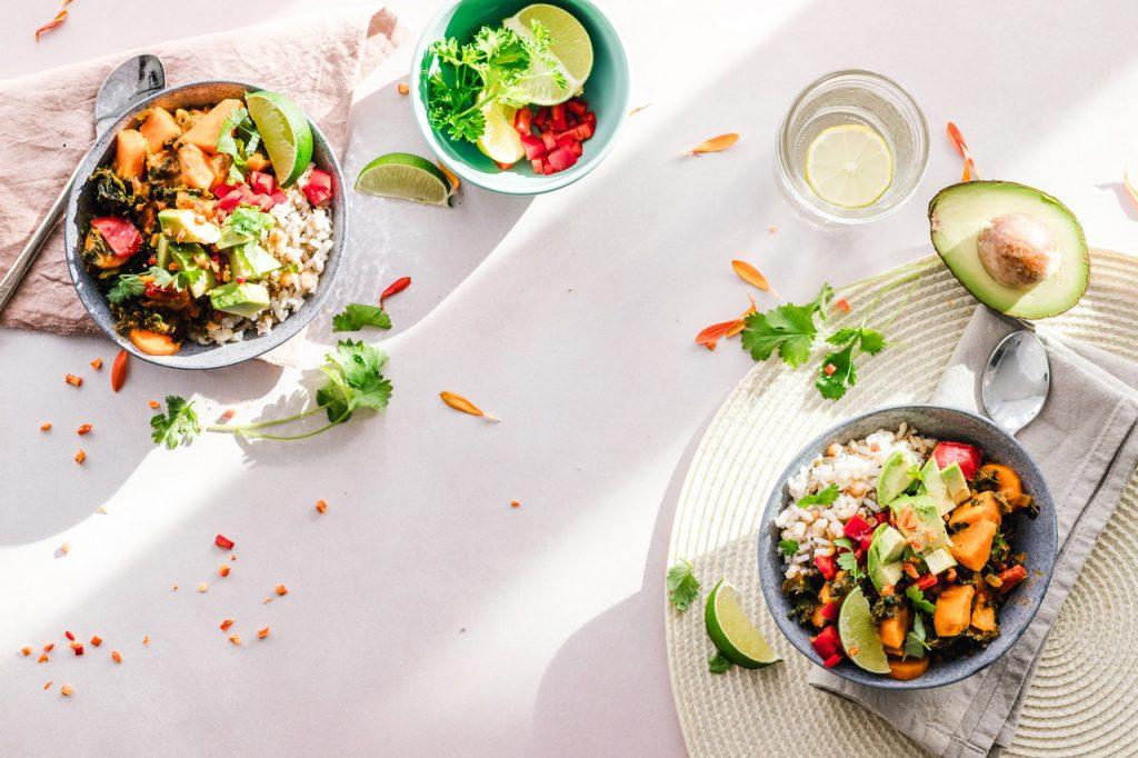 voedsel plantaardig eten