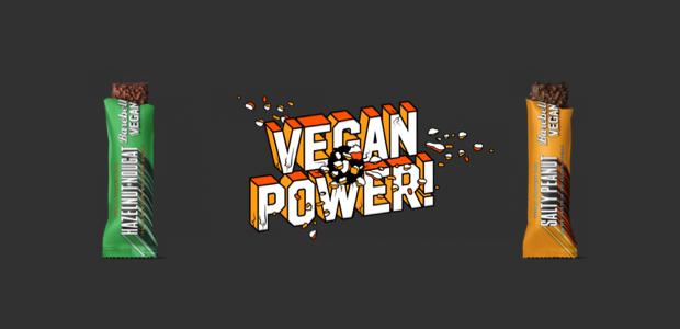 Vegan proteinerepen van Barebells