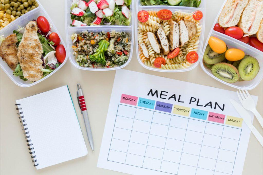 Hoe ziet een voedingsschema eruit